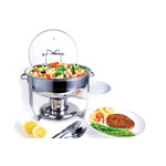 Culinary Edge® 4 qt. Stainless Steel Buffet Chafer Dish