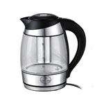 Culinary Edge® 1.8L Electric Glass Tea & Water Kettle w/Infuser
