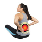 HealthMate Products Active Heat Back Wrap