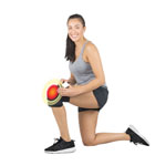 HealthMate Products Active Heat Knee Wrap