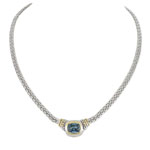 John Medeiros™ Nouveau Double Strand CZ Necklace