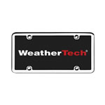 WeatherTech® Stainless Steel License Plate Frame