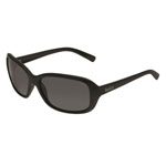 bolle'® Molly Shiny Black Sunglasses w/Gray Polarized Lens