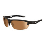 bolle'® Bolt Shiny Black Sunglasses w/Phantom Brown Gun Lens