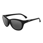 bolle'® Greta Shiny Black Sunglasses w/Gray Polarized Lens