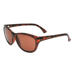 bolle'® Greta Shiny Tortoise Sunglasses w/Brown Polarized Lens