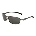 bolle'® Key West Shiny Gun Sunglasses w/Gray Lens