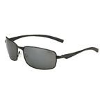 bolle'® Key West Matte Black Sunglasses w/Gray Polarized Lens