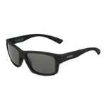 bolle'® Holman Rubber Black Sunglasses w/Gray Polarized Lens