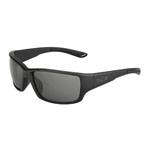 bolle'® Kayman Matte Black Sunglasses w/Gray Polarized Lens