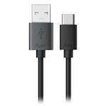 iLuv® 3' USB-C to USB-A Charge & Sync Cable