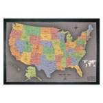 Winding Hills Designs Magnetic USA Travel Map