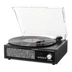 Victrola 3-In-1 Bluetooth 3-Speed Record Player w/Built-In Speakers