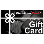WeatherTech® Laser-Customized Rear FloorLiner
