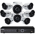 LOREX® 4K Security System w/ 16-Channel 3TB NVR & Eight 5MP Color Cameras