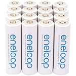 Panasonic® eneloop pro™ Rechargeable Batteries - AA, 16 Pack