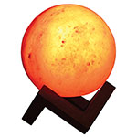 PURE HIMALAYAN SALT WORKS Illumination Sphere Salt Lamp