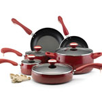 PAULA DEEN® 15 pc. Porcelain Enameled Cookware Set