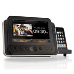 "RCA® Clock Radio w/7"" Screen & iPod®/iPhone® Dock"