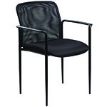 BOSS Office Products® Stackable Mesh Guest Chair