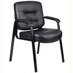 BOSS Office Products® Executive Mid Back LeatherPlus Chair
