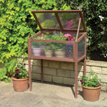 GARDMAN® Raised Wooden Cold Frame Greenhouse