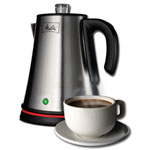 Melitta® 6-Cup Coffee Percolator
