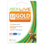 Microsoft® 12-Month Xbox LIVE® Gold Membership