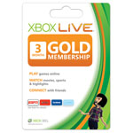 Microsoft® 3-Month Xbox LIVE® Gold Membership