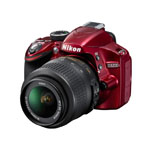Nikon® 24.2MP DSLR Camera w/2 Lenses