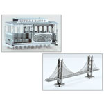 Fascinations® Metal Works 3D Model Kit - San Francisco