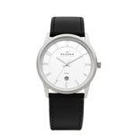 SKAGEN DENMARK® Men's Black Strap Watch