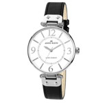 ANNE KLEIN Women's Leather Strap Watch